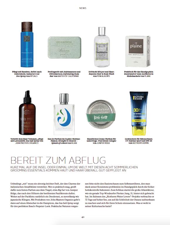 LOfficielHommes 2_2015 Beauty News S.1