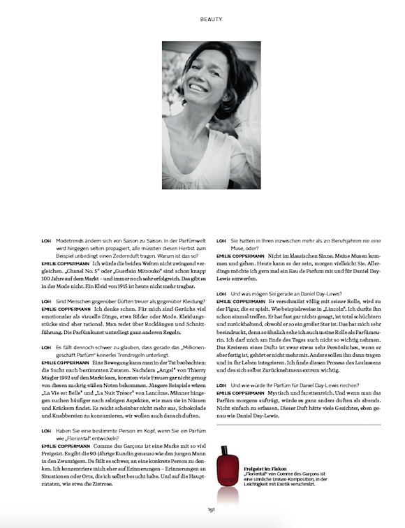 LOfficielHommes 3_2015 Interview Emilie Coppermann S.2