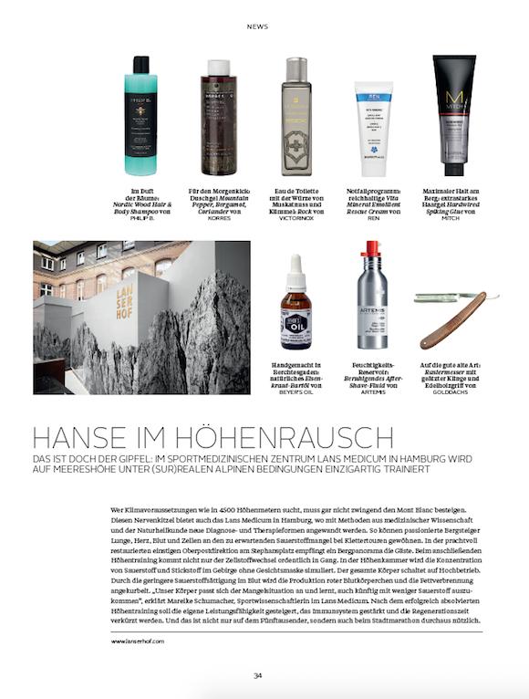 LOfficielHommes 4 2015 Beauty News S.1