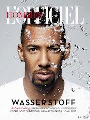 L'Officiel Hommes Cover Juli 2016