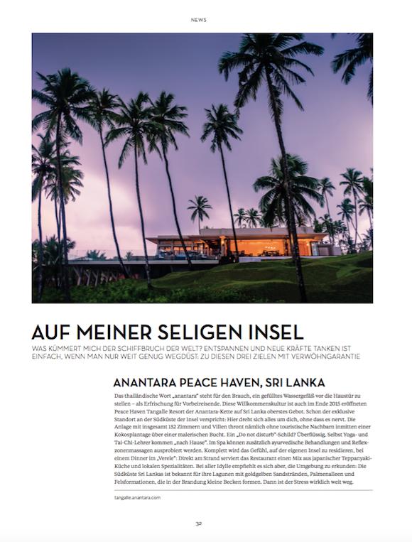 LOfficielHommes 1 2016 Reise News S.1